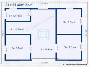 3 stall horse barn plan barn ideas pinterest horse With 6 stall horse barn plans