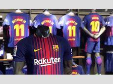 La camiseta del FC Barcelona 2017 2018 ya está a la venta