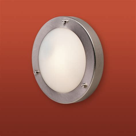 firstlight 2745bs rondo 1 light flush fitting