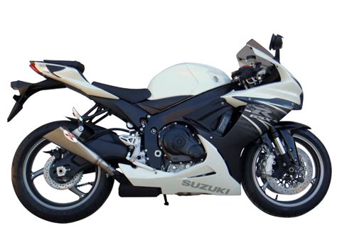 suzuki gsx r 750 2011 2012 ixil x55 slip on exhaust slash