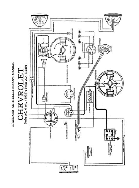 wiring diagram for chevrolet 1930 series ad 59014 circuit and wiring diagram