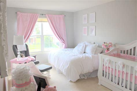 Elegant Pink & Grey Nursery  Project Nursery