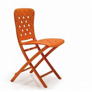 Chaise Exterieur Design : chaise design pliante zac spring nardi zendart design ~ Teatrodelosmanantiales.com Idées de Décoration