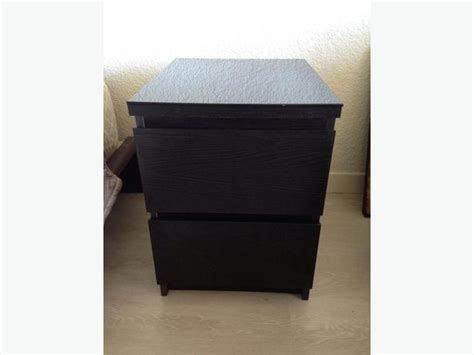 Ikea Malm Nightstand With Glass Top Victoria City, Victoria
