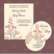Wedding Invitation With Dvd Kit Design Vector 04 Vector Card Vector Months Ago Ai How To Edit This Vector Free For Commercial Use With The Elegant Wedding Invitation Card Vector Design Will Download As A Wedding Invitation Backgrounds Vector Vector Graphics Blog