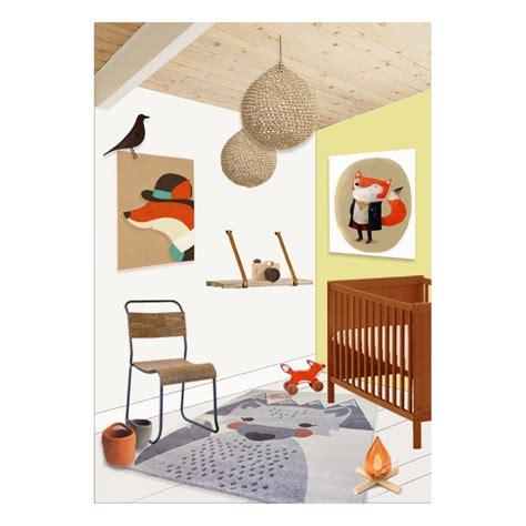 tapis chambre enfants tapis renard mr fox pour chambre d 39 enfant