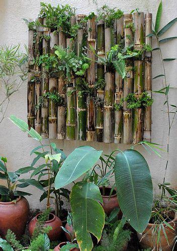 Bamboo Vertical Garden by Www Mysunnybalcony New Home Ideas Vertical
