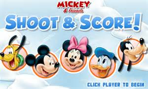 Mickey Mouse Hockey Games