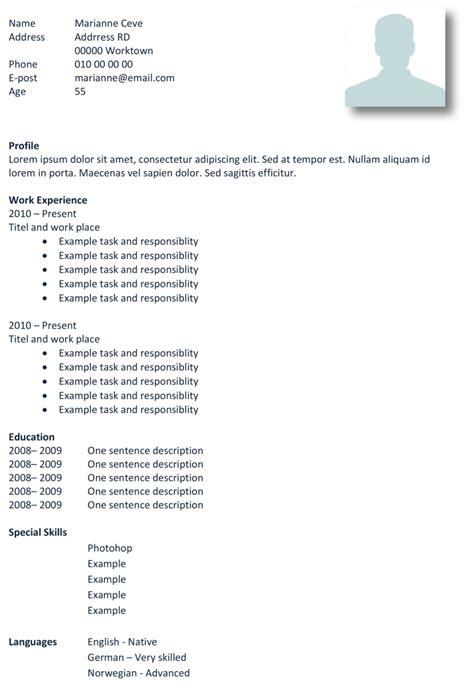basic cv templates  word land  job