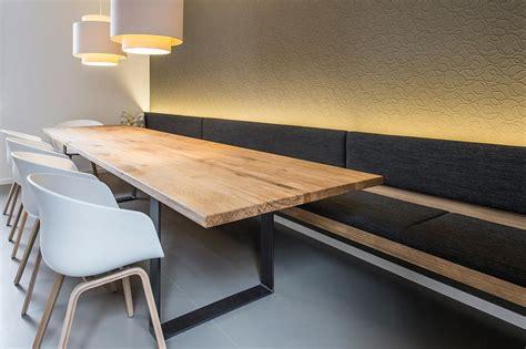 esszimmer mit bank und stühle esszimmertisch mit st 252 hlen bank und beleuchtung wozi