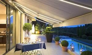 Store électrique Terrasse : store de terrasse somfy domotique et motorisation de ~ Premium-room.com Idées de Décoration