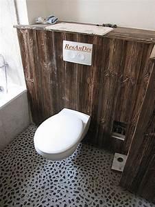 Badgestaltung Mit Pflanzen : badgestaltung mit altholzschalung altholzschalung badgestaltung ~ Markanthonyermac.com Haus und Dekorationen