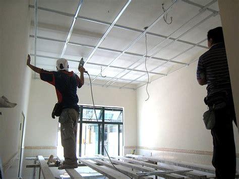 struttura per cartongesso soffitto come fare un controsoffitto isolante in cartongesso fai da