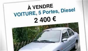 Document Pour Vendre Sa Voiture : affiche de vente voiture ~ Gottalentnigeria.com Avis de Voitures
