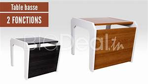 Table Basse Multifonction : table basse multifonction 99 dt au lieu de 150 dt ~ Premium-room.com Idées de Décoration