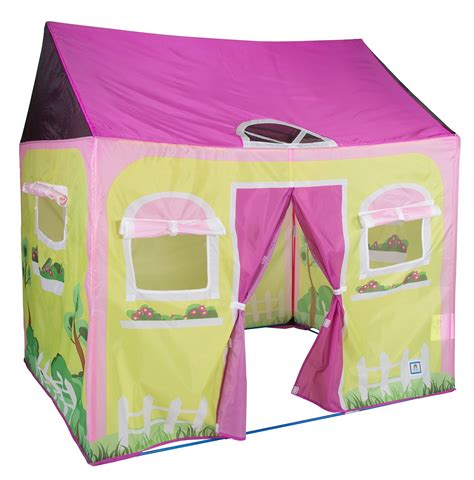 playroom tent kids girls play tent cottage play house playhouse indoor outdoor portable new ebay