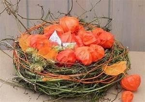 Herbst Dekoration Tisch : herbst deko ideen mit physalis tisch dekoration weidenruten ~ Frokenaadalensverden.com Haus und Dekorationen