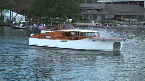 classic motor yachts opening day mov youtube