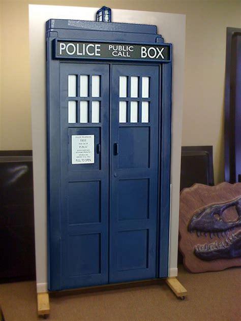 tardis door cover doctor who get your own tardis door for your house
