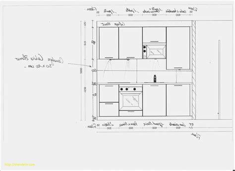 largeur plan de travail cuisine unique hauteur prise plan