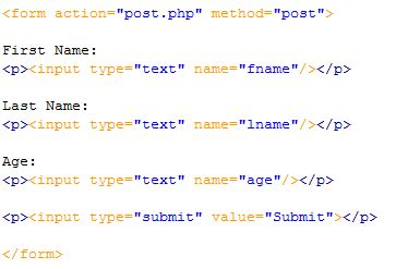 form handling with php for web developer