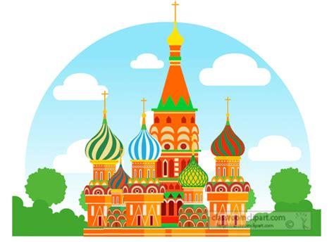 foto de Europe Clipart colorful saint basil cathedral moscow
