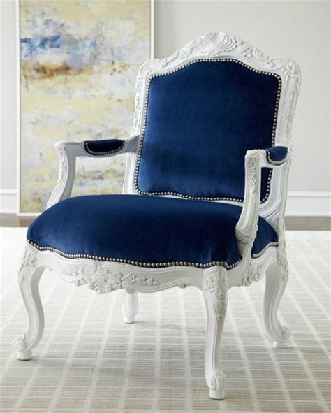 royal blue upholstery chair