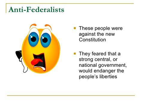 anti federalist beliefs