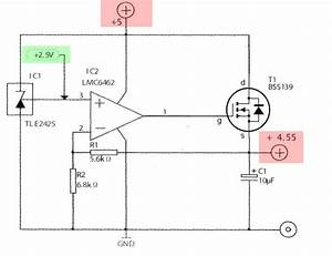 Opamp Voltage Follower  Regulator - Improgrammer