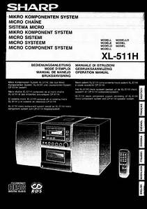 Sharp Xl 510 H Hifi System Download Manual For Free Now
