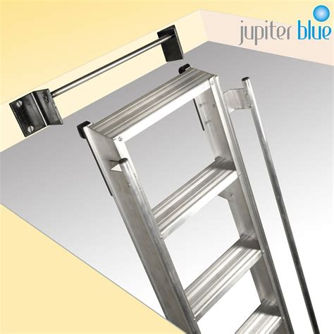 aluminum attic heavy duty hook on loft ladder for commercial use