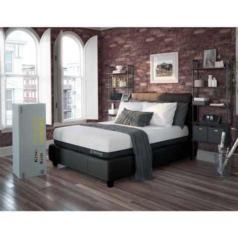 futon express king koil express comfort hybrid plush xl 11 in gel