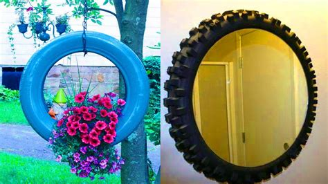 recycled tyre ideas diy amazing ideas   waste