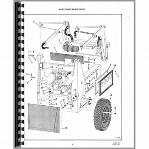 Bobcat 721 Skid Steer Loader Parts Manual