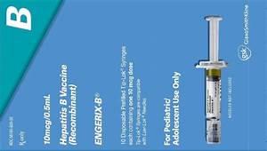 Hepatitis B Vaccine Fda Label Engerix B Injection