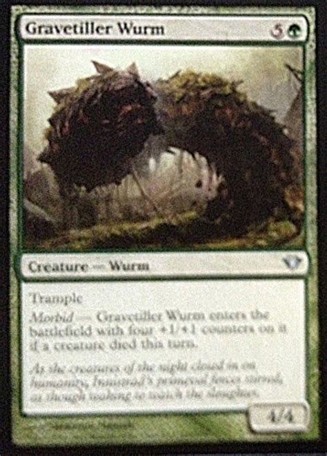 Mtg Wurm Deck Legacy by Gravetiller Wurm From Ascension Spoiler