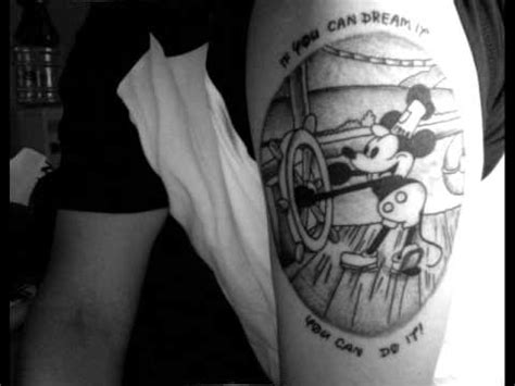 cool disney tattoos youtube
