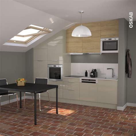 hauteur entre meuble bas et haut cuisine hauteur meuble haut cuisine rapport plan travail