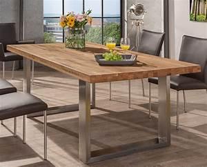 Holztisch Mit Metallgestell : holztisch mit metallgestell alles ber wohndesign und m belideen ~ Markanthonyermac.com Haus und Dekorationen
