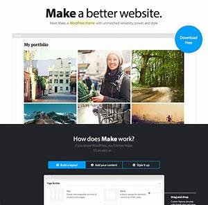 Make and make plus the theme foundry for Making wordpress templates