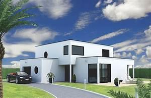 Maison cube contemporaine sur mesure Perpective Constrution (76)
