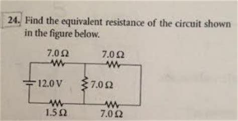 Solved Find The Equivalent Resistance Circuit