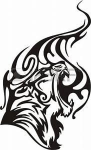 Tribal Tiger Eyes Tattoo