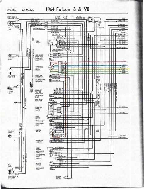 1964 Falcon Wiring Schematic by Falcon Diagrams