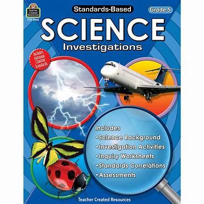 Science Grade Investigations Standards Based 5th Standard