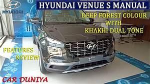 Hyundai Venue S Manual Transmission Petrol 1 2l 1 0l Turbo