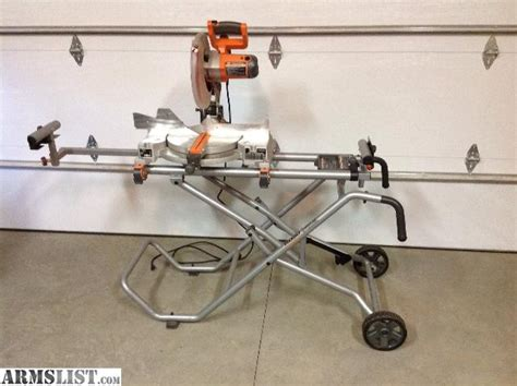 Armslist  For Trade Ridgid Portable Table Saw And Miter Saw