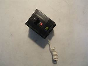 New Square D Type Qo 3 Pole 20 Amp Neutral Switch Style