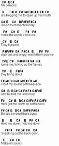 Flute Sheet Music Hold Me Down