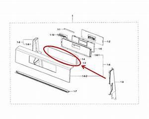 Samsung Part  Dg34 Membrane Switch  Oem
